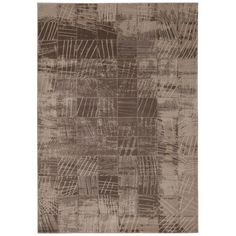 Nourison Soho Mocha Rug (5'3 x 7'4) - Overstock™ Shopping - Great Deals on Nourison 5x8 - 6x9 Rugs