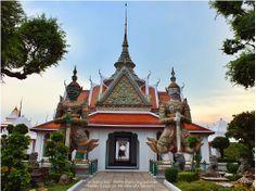 thailandhere: วัดอรุณ กทม ตอนที่ 4  Wat Arun Bangkok Thailand. p...