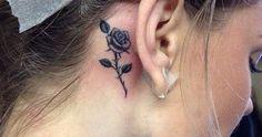 minimalist flower tattoo that you'll love - Female Tattoos - - Minimalist Tattoo - Sexy Tattoos For Girls, Little Tattoos, Cute Tattoos, Body Art Tattoos, Girl Tattoos, Tattoos For Women, Female Tattoos, Pretty Tattoos, Flower Tattoos