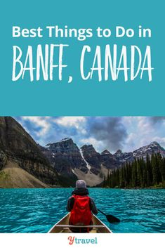 Insider travel tips on what to do in Banff from a local. Get advice on what to see and do, where to eat and stay, getting around, and much more. A great list of things to do in Banff Canada! #Travel #Banff #Canada #traveltips #familytravel #nationalparks