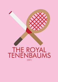 The Royal Tenenbaums Art Print by Marcus Coleman