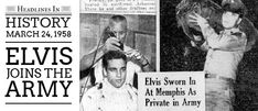 On March 24, 1958, Elvis Presley was inducted into the United States Army (23 Photographs) – Page 2 – Elvis Presley