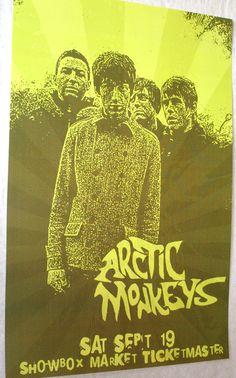 Arctic Monkeys Poster Concert $9.84