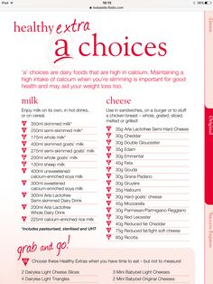 Healthy A choices astuce recette minceur girl world world recipes world snacks Healthy A Slimming World, Slimming World Books, Slimming World Shopping List, Slimming World Syns List, Slimming World Diet Plan, Slimming World Treats, Slimming Word, Slimming World Dinners, Slimming World Recipes