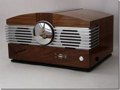 Wood Radio PC Case Mod