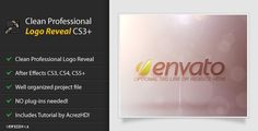 Buy Clean Professional Logo Reveal by AcrezHD on VideoHive. Reveal your own company logo or brand name with this Clean Professional Logo Reveal Project Highlights: Clean Pr.