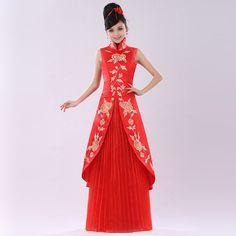 Suya Qi long dress