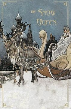 The Christmas snow queen (charles Robinson illustration)