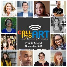 The call to art is louder than ever. Our students need us, and we need each other. That's why I'm thrilled to announce the second Call to Art Un-Conference! Art Lessons For Kids, Art Activities For Kids, Learning Activities, Teacher Conferences, Stem Science, Process Art, Teaching Art, Art Education, Trip Planning