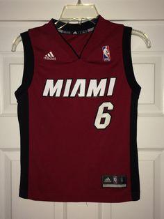 f9747857452 Sale Vintage Adidas MIAMI HEAT Basketball Jersey 6 by casualisme Miami Heat  Basketball