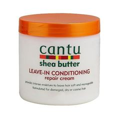 Cantu Leave in Conditioning Repair Cream ($4.85) ❤ liked on Polyvore featuring beauty products, haircare, hair conditioner, hair, leave in hair conditioner and leave in conditioner