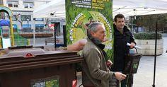 Ayuntamiento y Ekologistak Martxan lanzan una campaña informativa sobre el contenedor marrón