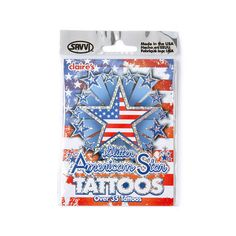 Temporary Tattoos will complete your look this July!