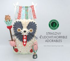 STRASZNY ČUDOVIT - Solo Show of new work from Horrible Adorables! #Colorado #Cute #GalleryShow #HorribleAdorables #Monster