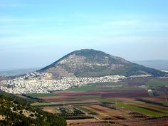 View of Mt. Tabor from Nazareth as Jesus would have seen it growing up