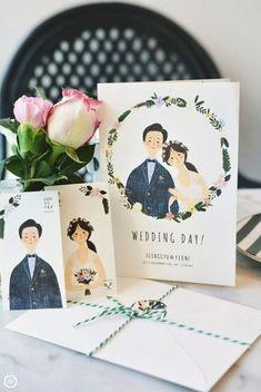 Illustrated Wedding Invitations, Bridal Invitations, Watercolor Invitations, Wedding Invitation Design, Wedding Stationary, Printable Invitations, Wedding Card Design, Wedding Cards, Storybook Wedding