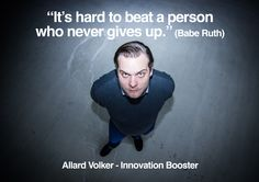 Allard Volker - Founder Innovation Booster www.innovation-booster.nl