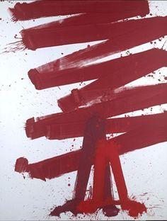 """Markus Prachensky: """"Swing de Provence"""" (2007). Seit den späten 1950er-Jahren war Rot die Farbe seines Lebens."""