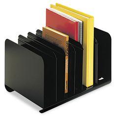SteelMaster 26413BRBLA Adjustable Steel Book Rack #26413BRBLA #SteelMaster #TAADesktopBookRacks  https://www.officecrave.com/steelmaster-26413brbla.html