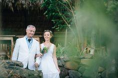 The #bride and her #father walking down the aisle #destinationwedding #beachwedding  Brad & Nicole's wedding photos shot by Hitch and Sparrow Wedding Co. in Laguna de Apollo, Nicaragua
