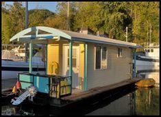 unique houseboat