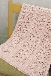 Ravelry: Heirloom Hearts Baby Blanket pattern by Hélène Rush