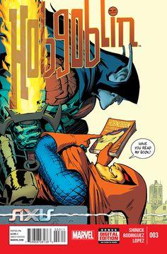 Preview: AXIS: Hobgoblin #3,   AXIS: Hobgoblin #3 Story: Kevin Shinick Art: Javier Rodriguez & Alvaro Lopez Cover: Javier Rodriguez Publisher: Marvel Publication Date: ...,  #All-Comic #All-ComicPreviews #AlvaroLopez #AXIS:Hobgoblin #Comics #JavierRodriguez #KevinShinick #Marvel #Previews