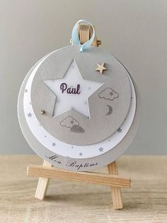 Ideas Bautizo, Diy And Crafts, Paper Crafts, New Baby Cards, Ideas Para Fiestas, Baby Scrapbook, Stamping Up, Christening, Diy Gifts
