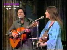 """Judy Collins welcomes Leonard Cohen to her PBS TV concert performance in this video clip from January They perform Cohen's song, """"Hey, That's No Way To Say Goodbye,"""" which Judy had recorded for her 1967 landmark album, Wildflowers. Leonard Cohen Lyrics, I Love Music, Kinds Of Music, Joan Baez, Folk Music, Forever, Greatest Songs, Album, Eyes"""