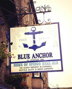 SPINGO REAL ALE: produced at Cornwall's oldest brewery, The Blue Anchor Inn at Helston.