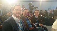 Con los alcaldes de Vitoria y Córdoba.