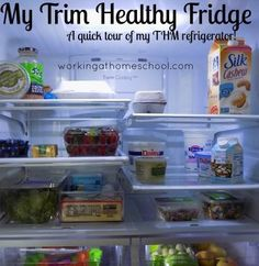 A Trim Healthy Mama Fridge