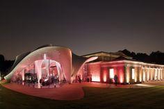 Nueva sede de la Serpentine Gallery de Londres. Obras de Zaha Hadid