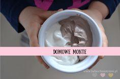 Domowe Monte – zdrowe słodycze dla dzieci BLW Icing, Deserts, Recipes, Food Ideas, Cakes, Fit, Shape, Desserts, Food Cakes