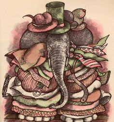 Uncle Elephant - written & illustrated by Arnold Lobel (1981).