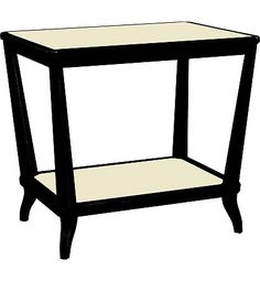 Rye Rectangular Side Table - Mahogany from the 1911 Collection collection by Hickory Chair Furniture Co.