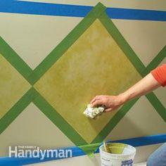 Paint Pizzazz: Decorative Painting Techniques   The Family Handyman