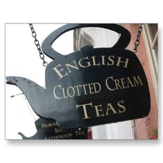 Clotted Cream Teas:  It would pick me right up!