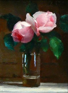 Painting Still Life, Still Life Art, Paintings I Love, Beautiful Paintings, Floral Paintings, Oil Paintings, Still Life Flowers, Oil Painting Flowers, Arte Floral