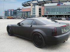 "New England Patriots Thomas ""BATMAN"" Clayton Matte Black Car Wrap by Seamless Wraps"