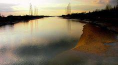 River Ribble, Preston, Lancashire, England