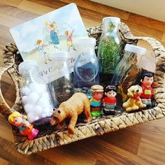 """@beckys_treasure_baskets's Instagram profile post: """"we're going on a bear hunt!!! love this book and so much you can do with it!!! here's some activities we have done based around the book!"""""""