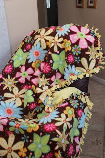 Michelle's Tasty Creations: Fleece Tied Blanket