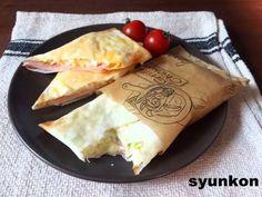 【簡単!!】5分で完成!朝ごはん、おやつにも*春巻きの皮パケット   山本ゆりオフィシャルブログ「含み笑いのカフェごはん『syunkon』」Powered by Ameba