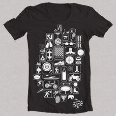 "Camiseta negra ""SPORT"""