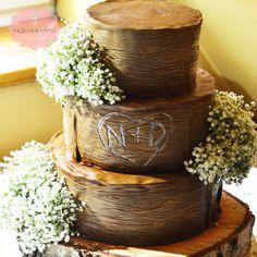 Tort drzewo z gipsówką