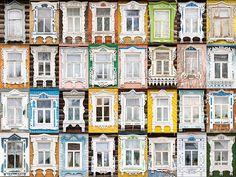 Nalichniki (Russian wooden window casings)