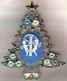 Gallery of Christmas Tree pins by Dorothea