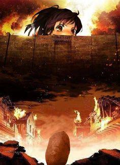 Attack On Titan Funny Edit   ... Attack On Titan #Shingeki no Kyojin #Shinkgeki no Kyojin Sasha #Attack