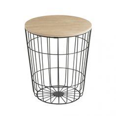 Konferenční stolek Pavola, 34 cm, černá - 1